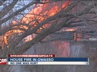 No injuries in Owasso vacant house fire