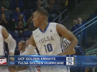 Tulsa beats UCF, 75-60 for 5th straight win