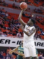 OK State loses lead, falls to #17 Baylor, 69-65