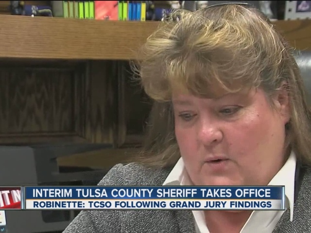 Interim Tulsa County Sheriff Takes Office