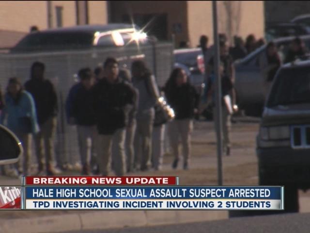 Hale High School sexual assault suspect arrested