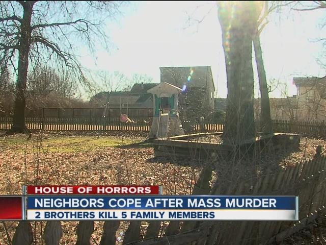 Neighbors cope after mass murder in Broken Arrow