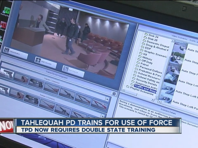 Tahlequah PD Trains For Use Of Force