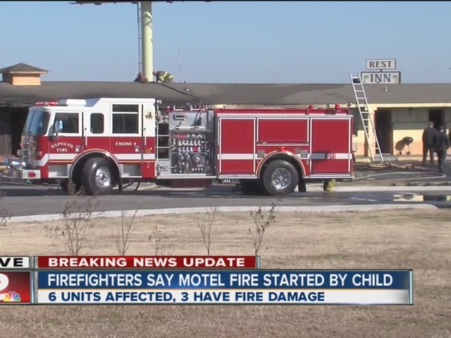 Update: Cause of motel fire determined as child with lighter, say Sapulpa police