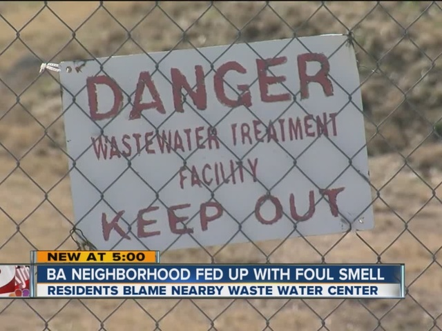 BA Neighborhood Fed Up With Foul Smell