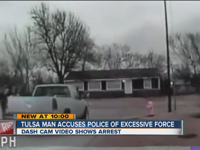 Tulsa Man Accuses Police of Excessive Force