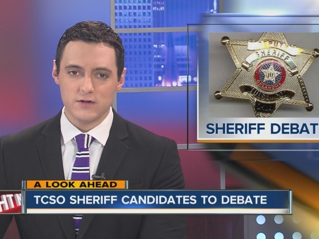 Debates for new Tulsa sheriff planned