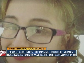 Search continues for missing Okmulgee woman