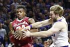 #1 Oklahoma upset by Kansas State, 80-69