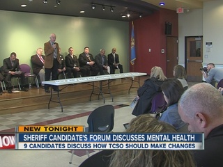 Sheriff candidates discuss mental health
