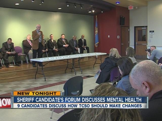Sheriff Candidates Forum Discuss Mental Health
