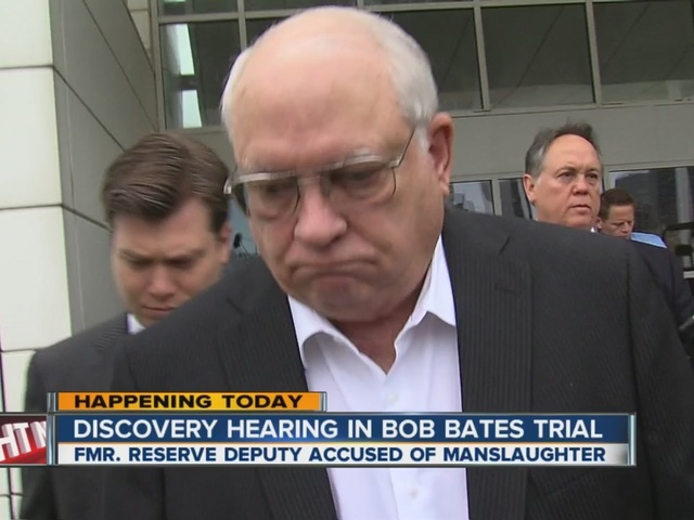 Discovery hearing in Robert Bates trial