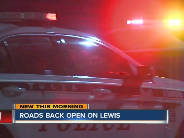 Lewis Avenue reopens after body found