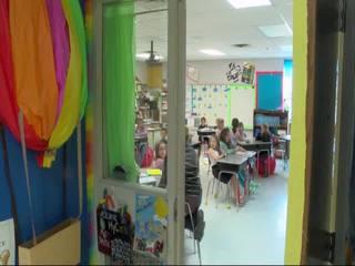 Teachers create busy bar to help students focus