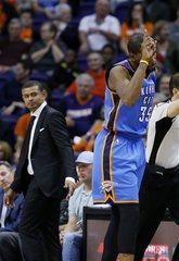 Thunder pull away late, beat Suns, 122-106
