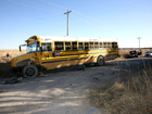 4 kids suffer scrapes, bruises after bus wreck
