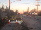 Parts of EB 21st St. closed for repairs