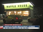 Man eats at Waffle House, then steals cash