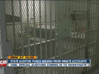 State auditor finds missing inmate funds
