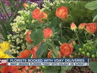 Green Country florists busy with Valentine's Day