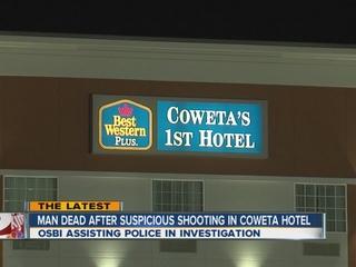 OSBI investigate suspicious Coweta shooting
