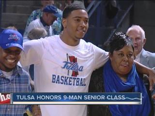 Tulsa beats USF on Senior Day, 84-74