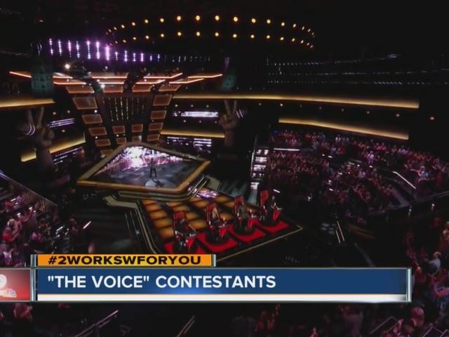 Amanda Preslar Recaps Moments From The Voice Kjrh Com