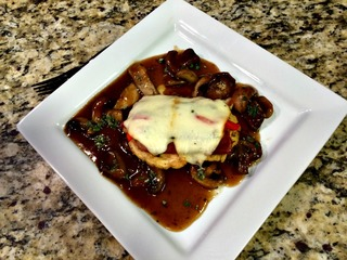 RECIPE: Saltimbocca chicken breast
