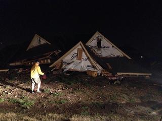 Owasso homes damaged by tornado Wednesday