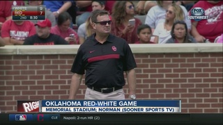 Sooners' Spring Game turnover-free
