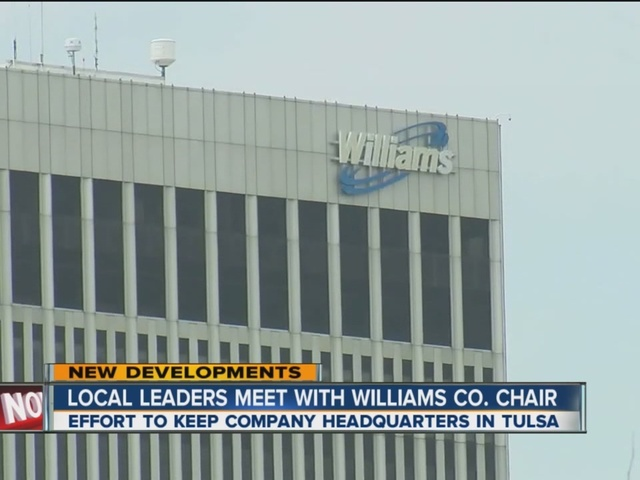 Local Leaders Meet With Williams Co. Chair