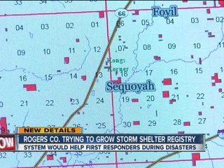 County asks people to register storm shelters