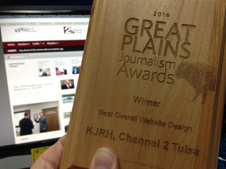 KJRH.com wins for Best Overall Website Design