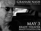 CONTEST: Win two tickets to Graham Nash