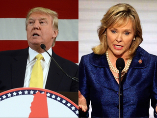 Fallin endorses Trump, welcomes VP talk