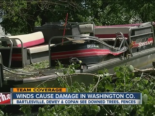 Washington County cleans up after storm