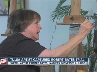 Robert Bates trial captured through sketches