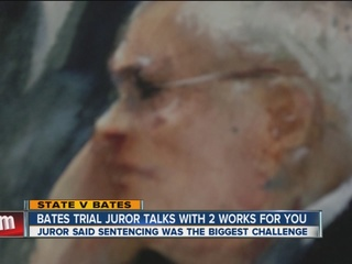 Bates trial juror talks to 2 Works For You