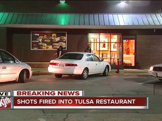 TPD: Shots fired inside west Tulsa McDonald's