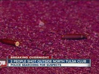 2 shot, 1 dead after north Tulsa shooting