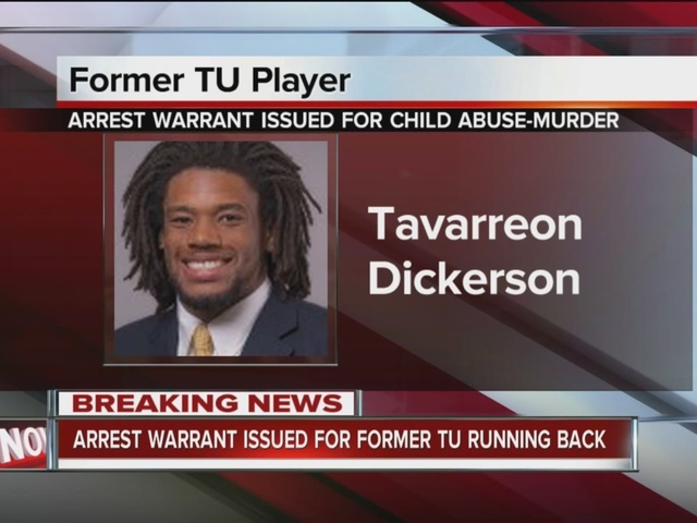 Former TU football player facing murder charges