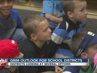 Grim outlook for local school districts