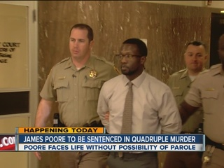 James Poore sentenced to life in prison