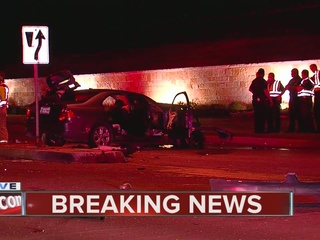 Police investigate deadly wreck in south Tulsa