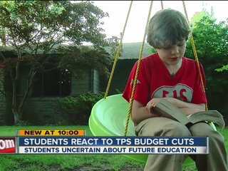 Students react to TPS budget cuts