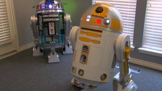 Tulsan shows off droid collection on May 4th