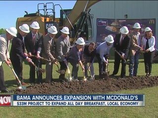 Bama announces expansion with McDonald's