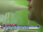 FDA brings e-cigarettes under federal authority
