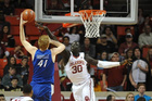 OU men's basketball player charged with assault