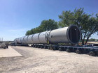 380 ft long superload to go through Tulsa